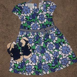 Gymboree toddler dress 3T & size 8 sandals